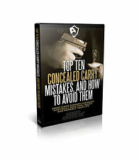 Top Ten Concealed Carry Mistakes, And How To Avoid Them (DVD) Ships in 12 Hrs!!!