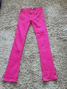 Ralph Lauren Pink Tall Jeans Size 25