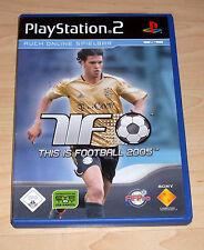 Playstation 2 Spiel -This is Football 2005 - PS2 ( Sport Fussball TIF Ballack )