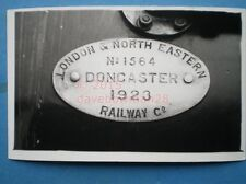 PHOTO  LNER PLATE NO 1563 1923
