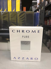 Chrome Pure By Azzaro 3.4 oz / 100 ML Eau De Toilette Men New in box