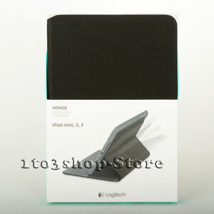 Logitech Hinge Folio Shell Case w/Stand Cover for iPad mini 2 iPad mini 3 Black