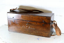 A Beautiful Antique Storage Box Antique Microscope Box late 1800s early 1900s