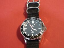 Time Arrow Watch Co. Submarine, military, Miyota movement, Red hand