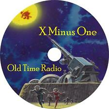 X-Minus One Old Time Radio Shows OTR 127 Episodes on 1 MP3 DVD Free Shipping