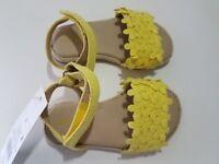 Toddler Girls Elvie Espadrille Flower Sandals - Cat & Jack - Yellow - Heel Strap