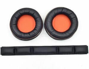 Ear pad cushion bands for SteelSeries Siberia 840 800 Wireless Headset Dolby 7.1