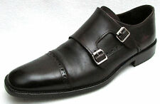 To Boot New York Adam Derrick Double Monk Strap Buckle Dress Loafer 9.5 **