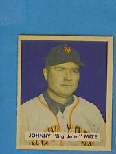 1949 Bowman Baseball Single: #85 Johnny Mize (name on front)(EM)