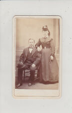 SAN FRANCISCO, CA.YOUNG COUPLE. ANTIQUE CDV BY G.D. MORSE
