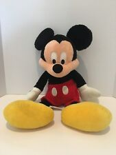 "Disney Parks Mickey Mouse 16"" Traditional Plush Stuffed Animal"