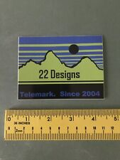 22 Designs Decal/sticker Skiing