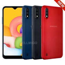 "Samsung Galaxy A01 (16GB) 5.7"" Face Unlock, GLOBAL 4G LTE GSM Unlocked A015M/DS"