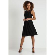 ANNA FIELD Lace Detail Cocktail Black Dress - Size UK8  a7c4cc48e