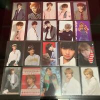 bts taehyun trading cards from japan shippingfree collection excellent authentic