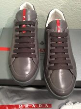 NIB Authentic Prada calf leather Sneakers Shoes 37
