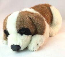"E&J Classic PUPPY DOG 14"" Plush Cream Brown Spot Stuffed Animal Toy"