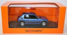 Voitures miniatures bleus pour Peugeot