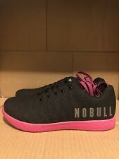 Nobull Superfabric Trainer Low Black Berry Size M10.5 / W12