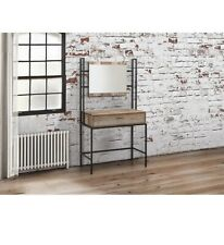 Birlea Urban Dressing Table and Mirror, Wood, Rustic