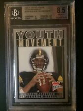 2004 Fleer Platinum Youth Movement #5YM Ben Roethlisberger - BGS NmMt+ (8.5)