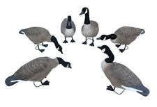 Hunting Field Goose Multi-pose Simulation Black and White 6Pcs for One Set