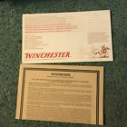 Vtg Winchester Model 70 Rifle Owners Instructions Manual