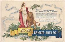A1743) WW1  BRIGATA AREZZO, 225 E 226 REGGIMENTO FANTERIA. VERSO SENZA STEMMA.