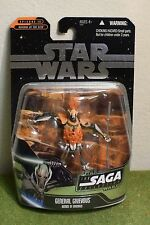 STAR WARS CARDED SAGA COLLECTION REVENGE SITH GENERAL GRIEVOUS DEMISE OF