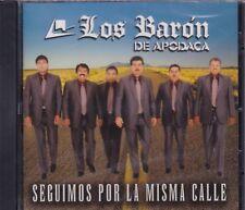 Los Baron de Apodaca Seguimos por la Misma calle CD New Nuevo Sealed