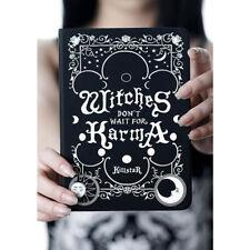Killstar Gothic Goth Okkult Heft Notizbuch Schreibblock Witches Karma Journal