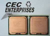 Lot of 2 - Intel Xeon Processors X5355 2.66GHz (8M Cache, 1333 MHz FSB) SLAEG