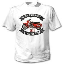 Honda CB 72-Nueva Camiseta Con Gráfico increíble S-M-L-XL - XXL