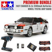 TAMIYA RC 58667 Audi Quattro A2 Rally (TT-02) 1:10 Premium Wheel Radio Bundle