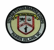 USMC MCRD MARINE CORPS RECRUIT DEPOT PARRIS ISLAND SC PATCH BOOT CAMP DI RECRUIT
