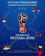 * 2018 FIFA WORLD CUP FINALS (RUSSIA) OFFICIAL TOURNAMENT PROGRAMME *