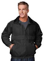 Tri-Mountain Men's Full Zipper Waistband Water Proof Trendy Shell Jacket. 2000