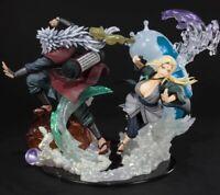 Jiraya & Tsunade action figure toy models Naruto shippuden figurines PVC Dolls