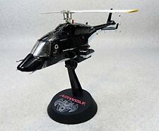 Aoshima Airwolf 1/48 scale high quality diecast model metallic black