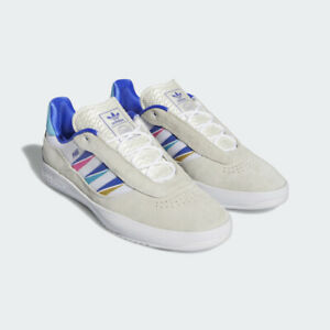 Adidas Shoes Lucas Puig Cloud White/Sonic Ink/Signal US Size Skateboard Sneakers
