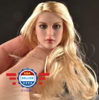 KIMI KT007 1/6 European American Female Head sculpt for PALE PHICEN