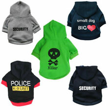 Boy Dog Hoodie Male Pet Clothes Puppy Coat Jacket Sweater Clothing Size XS S M L