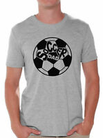 Soccer Dad T shirt Tops Father's Day Gift Idea Best Soccer Player Gift
