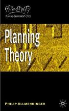 Planning Theory [Planning Environment Cities]