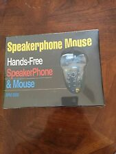 Speaker Phone Mouse Hands Free SPM3000 For Dos Win 95 98 NT PC New BNIB Sealed