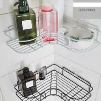 Bathroom Corner Shower Rack Stainless Steel Storage Tools Shelves 2019 Z0J4