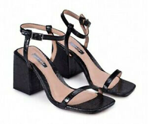 ! EX TOPSHOP ! BRAND NEW LADIES WOMENS BLACK NORA SHOES SIZE 6 RRP £39.00