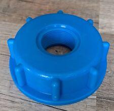 """IBC Adapter Wassertank Kanister S60x6 (Nr.61) auf 3/4"""" Innengewinde Feingewinde"""