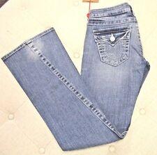 """TRUE RELIGION Women's Blue """"Joey"""" Stretch Jeans Style 10503TS RN#11279 - Size 26"""