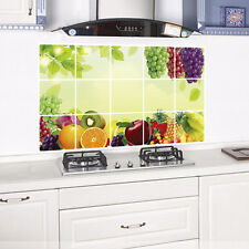 Art Kitchen Oilproof Removable Vinyl Wall Stickers  Decor Home Decal Fruit #AM8